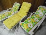 Lot: A5863 - (3) Plastic Lounge Chairs