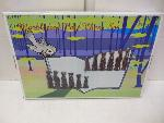 Lot: A5890 - Factory Sealed Marble Chess Set