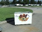 Lot: 18-056 - Ice Cream Freezer