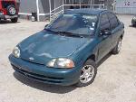 Lot: 17-105684 - 1998 Chevrolet Metro