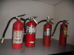 Lot: E72 - (4) FIRE EXTINGUISHERS