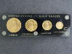 Lot: 3115 - (4) U.S. GOLD EAGLE COINS