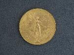 Lot: 3117 - 1947 GOLD 50 PESOS PIECE