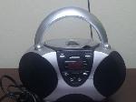 Lot: CM1 - Telephone Cassette Recorder, Staplers, Dictaphone Set, CD Player w/ Radio, & More