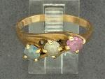 Lot: 3205 - 14K MOTHER'S RING