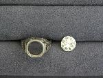 Lot: 3210 - 14KWG RING SETTING WITH LOOSE 2.84 CT DIAMOND