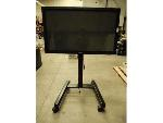 Lot: 1631 - Samsung Plasma Screen & Rolling Stand