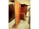 Lot: 1649 - Wood U-Desk Set