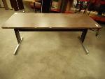 Lot: 1650 - Metal Frame Table