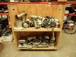 Lot: 1651 - Cart Full of Metal Scrap