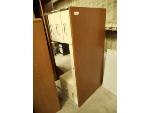 Lot: 1653 - Tan Metal and Wood Desk