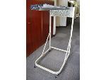 Lot: 42&43 - Blue Print Mobile Rack w/ Hangers & (2) Coat Hanger Stands