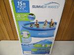 Lot: A5937 - Summer Waves 15ft Quick Set Pool