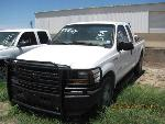 Lot: 156-SAN ANGELO - 2007 FORD F250SD TRUCK