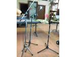 Lot: 02 - (4) Microphone Stands