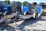 Lot: V-01 - 2009 7ft Mertz Equipment Trailer