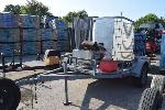 Lot: V-08 - Power Washer with Trailer