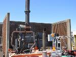 Lot: 29 - Incinerator, Power Source & Smokestack