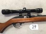 Lot: 29 - Marlin Med .60 - .22 Rifle