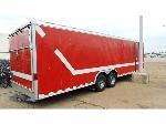 Lot: 02-19078.1 - 2002 Wells Gooseneck Cargo Trailer