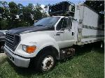 Lot: 47 - 2003 FORD F-650 25' REFRIGERATED CARGO TRUCK