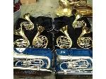 Lot: 34 - Band Instruments: French Horns, Trombones