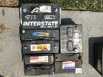 Lot: 246 - (5) Car Batteries
