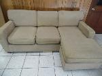 Lot: A6055 - Cost Plus Sectional Sofa