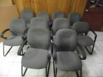 Lot: A6062 - (10) Stationary Office Chairs