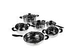 Lot: A6063 - (12pc) Stainless Steel Cookware Set