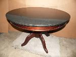 Lot: A6069 - Cherry Wood Marble Table