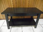 Lot: A6084 - Black TV Stand