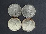 Lot: 3472 - (4) 1992-1993 AMERICAN EAGLE COINS