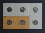 Lot: 3484 - V NICKELS, SEATED LIBERTY DIMES & BARBER DIMES