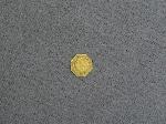 Lot: 3489 - 1873 CALIFORNIA GOLD 1/4 DOLLAR OCTAGONAL