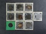 Lot: 3490 - (9) 1803-1854 LARGE PENNIES & 1803 HALF CENT