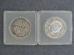Lot: 3498 - 1925 STONE MOUNTAIN HALF & 1893 COLUMBIAN HALF