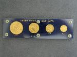 Lot: 3499 - UNITED STATES GOLD COIN SET