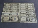 Lot: 3501 - (14) 1935-1957 $1 SILVER CERTIFICATES