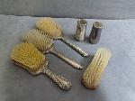 Lot: 3511 - STERLING SILVER BRUSHES