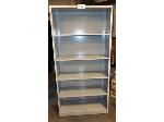 Lot: 02-19264 - Metal Bookshelf