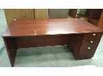 Lot: 1965 - Large Wood Desk
