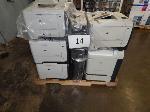 Lot: 14 - (9) HP Printers