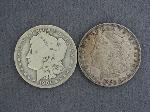 Lot: 3578 - 1891-CC &1901-O MORGAN DOLLARS