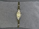 Lot: 3596 - 14K WITHAUER WRIST WATCH