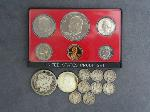 Lot: 3598 - 1880 MORGAN DOLLAR & 1973 PROOF SET