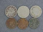 Lot: 3605 - V NICKELS & INDIAN HEAD PENNIES
