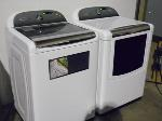 Lot: A6097 - Working Whirlpool Cabrio Washer Dryer Set