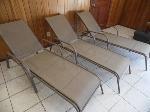 Lot: A6103 - (3) Hampton Bay Outdoor Patio Lounge Chairs