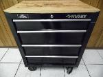 Lot: A6108 - Husky 4-Drawer Mobile Tool Chest Work Bench